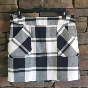 Tommy Hilfiger Buffalo Check Skirt.  NWOT